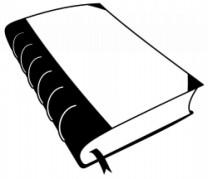 Ein klassisches, geschlossenes Buch